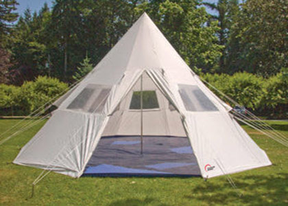 TeePee Tent 18p* & Rent-a-Tent Canada - Camping Equipment