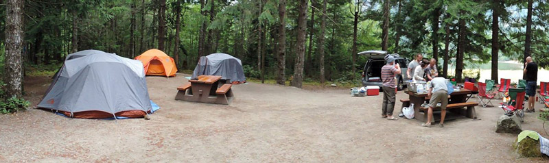 Rent A Tent Canada Group Camping Squamish