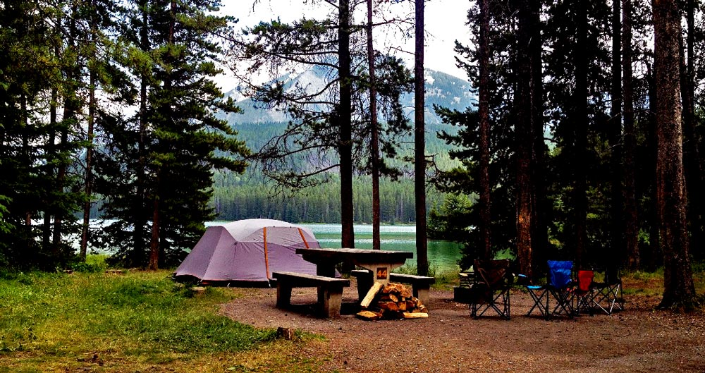 Rent a Tent Canada Meadowland 6 camping services Banff