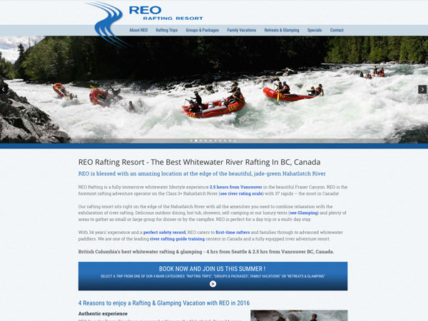 Rent a Tent Canada - REO Rafting  - Friends