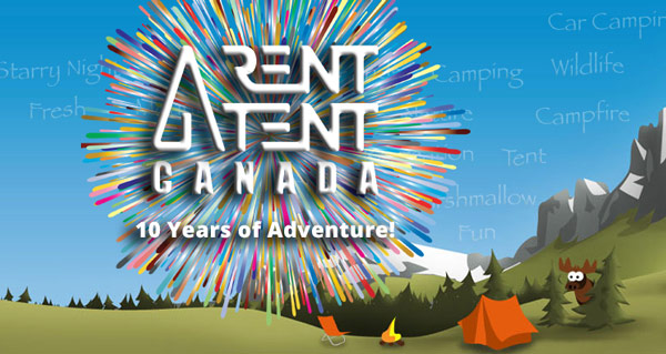 Rent a tent promotion deal 10 Years