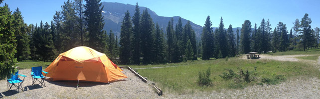 Rent a Tent Canada - Banff Tunnel Village 1 - A Loop Halo 6p